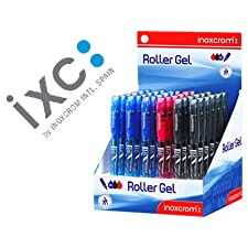 ROTULADOR ROLLER INOXCROM LONG GEL OFFICE CAMPUS COLORES SURTIDOS 0,6MM (36 unid.)