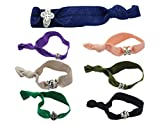 BONAMART ® 7 pcs No Crease Elastic Hair Band Ponytail Holder Ribbon Hair Ties Lot Wholesale for Girl & Women