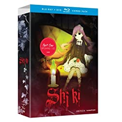 Shiki: Part 1  (Limited Edition Blu-ray/DVD Combo)