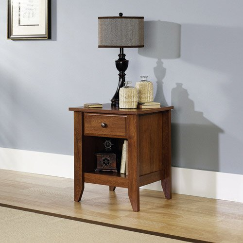 Night Stand Oak front-1067759