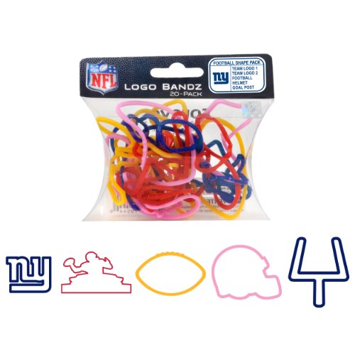 NFL New York Giants Logo Bandz at Amazon.com