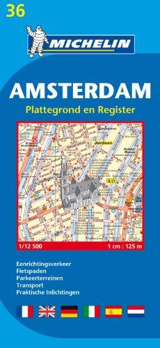 Michelin Map Amsterdam #36 (Maps/City (Michelin))