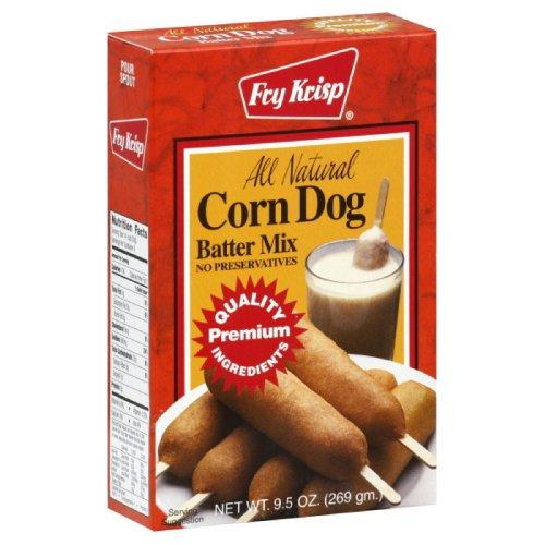 Fry Krisp Corn Dog Mix, 9.5-Ounce (Pack of 12)