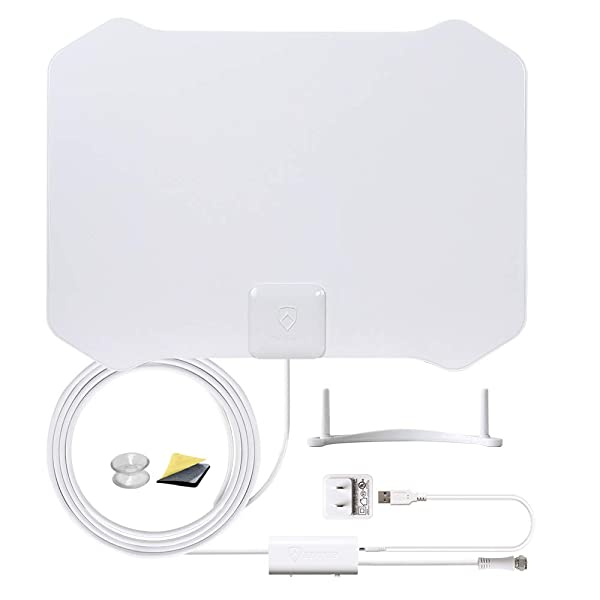 ANTOP 720°Dual-Omni-Directional Outdoor HDTV Antenna Enhanced VHF//UHF Reception