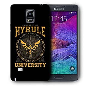 Snoogg Hyrule University Designer Protective Back Case Cover For SAMSUNG Galaxy NOTE 4