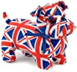 Dora Designs Union Jack Bulldog Doorstop - Noble - DSUK01