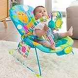 Hamaca con sonido para bebés | Hamaca para bebé, suave y duradero con tres plazas de asiento y diferentes melodías | Ideal para el descanso y el juego | Estimula las habilidades del bebé y la promoción | En 3 posiciones del asiento regulable | Base b