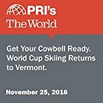 Get Your Cowbell Ready. World Cup Skiing Returns to Vermont. | Andrea Crossan