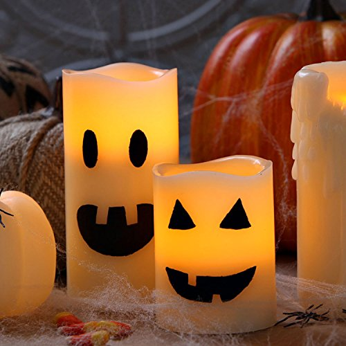 Flameless candles led candles with battery powered Q home decor marina mall