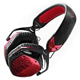 V-MODA Crossfade LP Over-Ear Noise-Isolating Metal Headphone (Rouge)