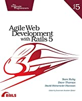 Agile Web Development with Rails 5 Front Cover