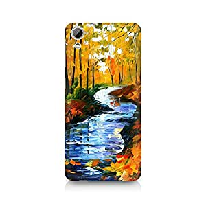 Mobicture Pattern Premium Printed Case For HTC Desire 820