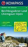 Berchtesgadener Land - Chiemgauer Alpen: Wanderkarte mit Aktiv Guide, Radwegen und Skitouren. GPS-genau. 1:50000