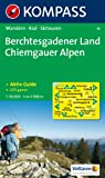 Berchtesgadener Land / Chiemgauer Alpen 1 : 50 000: Wanderkarte mit Tourenfhrer, Radwegen und Skitouren. GPS-geeignet