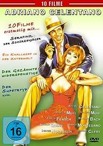 Adriano Celentano - 10 Filme Box (4 DVD-Box )