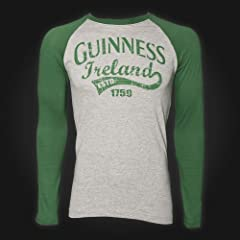 Guinness T-Shirt Ireland - Grey and Green