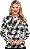 Pendleton Women's L/S Jewel Neck Blouse