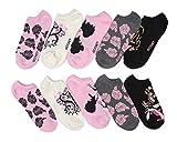 Disney Sleeping Beauty No-Show Socks 5 Pair