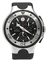 Discount Men's Watches - Movado Men's Series 800 Black Thermoresin Strap Chronograph Watch #2600019