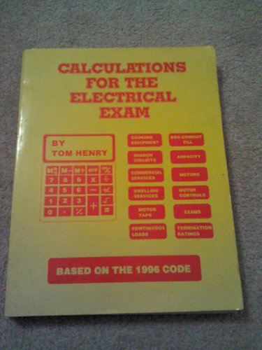 Calculations For The Electrical Exam