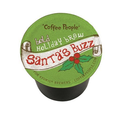 Coffee People Santa S Buzz 24 Count K Cups For Keurig