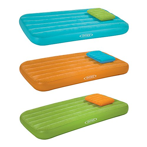 Intex Cozy Kidz Inflatable Airbed, (Colors May Vary), 1 Bed