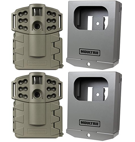 2-MOULTRIE-Game-Spy-A-5-Gen2-Low-Glow-5-MP-Trail-Game-Cameras-Security-Boxes