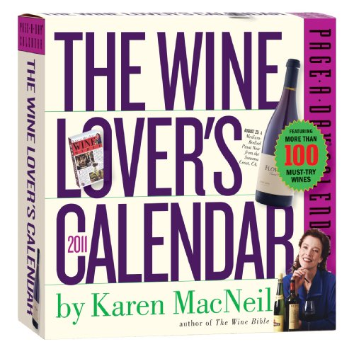 The Wine Lover's Page-A-Day Calendar 2011