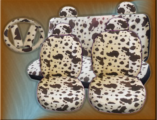 COW PRINT CAR SEAT COVERS. CAR SEAT COVERS | Cow print car seat ...