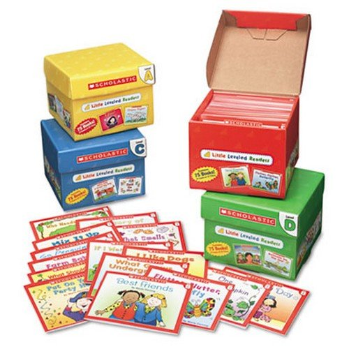 little-leveled-readers-mini-teaching-guide-75-books-five-each-of-15-titles-sold-as-1-package