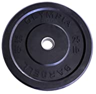 Olympic Bumper Plates One Pair Black…
