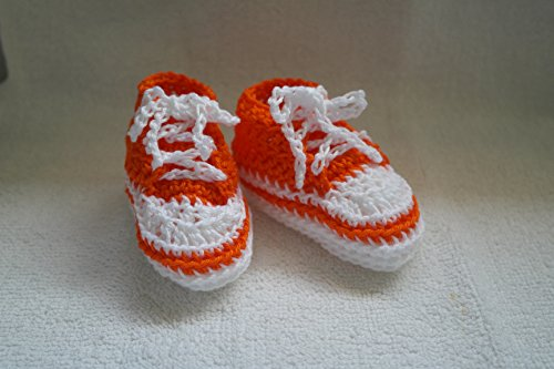 Hand made Baby shoes, Crocheted Baby shoes, Converse, Baby Sneakers, New Baby born shoes, Baby clothes, Baby items, Hand crafted, Athletic