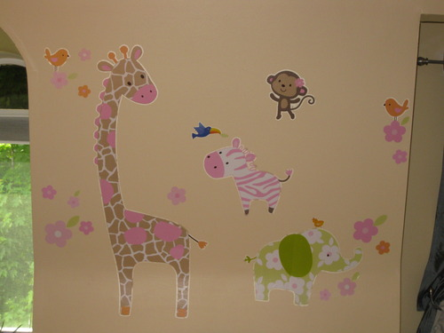 Jungle Jill Wall Decor : Carter s jungle jill wall decals discontinued
