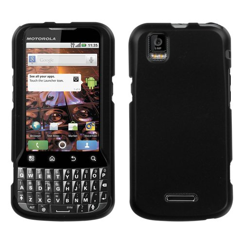 Hard Protector Skin Cover Cell Phone Case for Motorola XPRT MB612 Sprint - Black