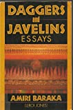 Daggers and Javelins: Essays, 1974-1979