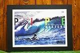 【ハワイアン雑貨】ハワイアンポスター(2012 BILLABONG PIPE MASTERS NORTH SHORE HAWAII)J-0001