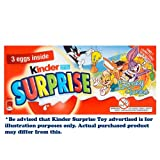 Kinder Surprise X 3 Pack 60G (Toy Range Subject to Change)