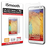iSmooth Samsung Galaxy Note 3 Ultra Clear Premium HD Screen Protector 3 Pack