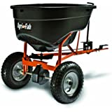 Agri-Fab 45-0463 SmartSPREADER 130-Pound Max Tow Behind Broadcast Spreader, Black