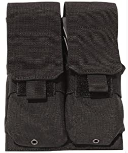 Galati Gear Molle M-4 Rifle Double Magazine Pouch (Black)