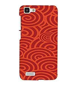 PrintVisa Spiral Art Pattern 3D Hard Polycarbonate Designer Back Case Cover for VivoY27L