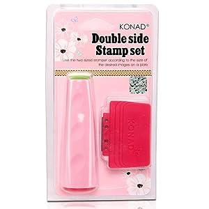 Konad - Tampon Double et Raclette - Manucure