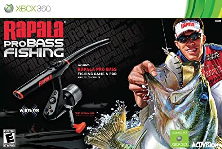 Rapala Pro Bass Fishing with Rod Peripheral