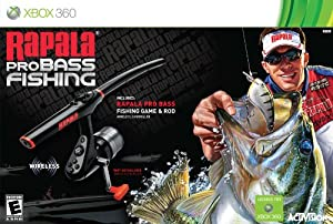 Buy Amazon.com: Rapala Pro Bass Fishing with Rod Peripheral: Xbox 360 