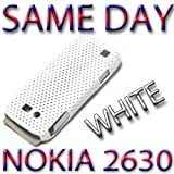 BRAND NEW HYBRID PLASTIC BACK COVER NOKIA 2630 WHITE UK