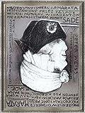 ポスター フランチシェク スタロヴェイスキ マルキ・ド・サドの演出のもとにシャラントン精神病院患者たちによって演じられたジャン=ポール・マラーの迫害と暗殺 額装品 ヴィドフレーム(シルバー)