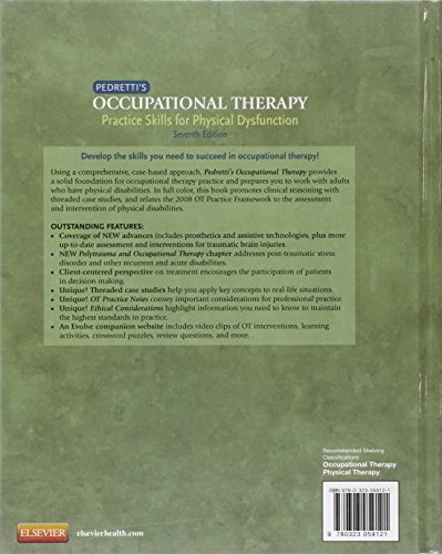 Pedretti's Occupational Therapy: Practice Skills for Physical Dysfunction, 7e (Factsbook)