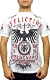 Affliction Mens Tried T-shirt Large White (L)