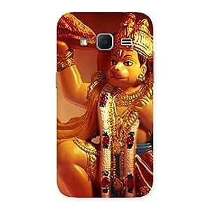 Lord Hanuman Multicolor Back Case Cover for Galaxy Core Prime