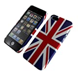NEW STYLISH ENGLAND FLAG UNION JACK HARD BACK CASE COVER FOR APPLE I PHONE 5 5G